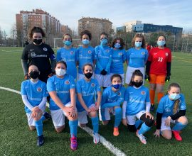 Categoría Infantil Escuela de Fútbol Getafe Femenino
