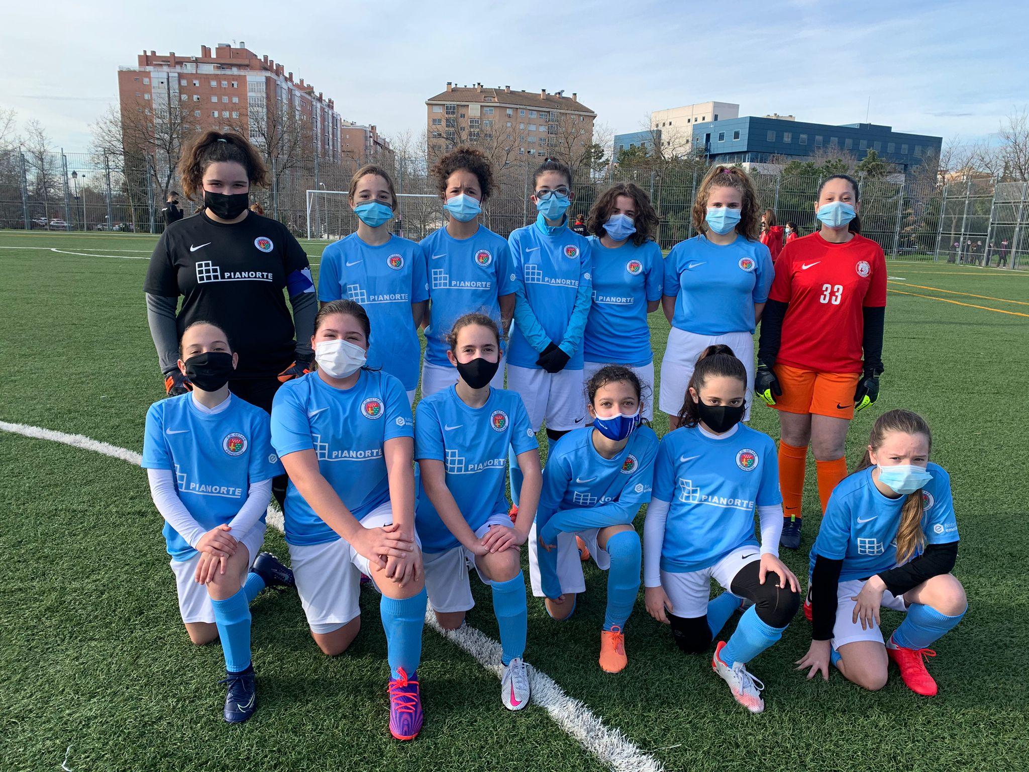 Jugadora Escuela Fútbol Getafe Femenino