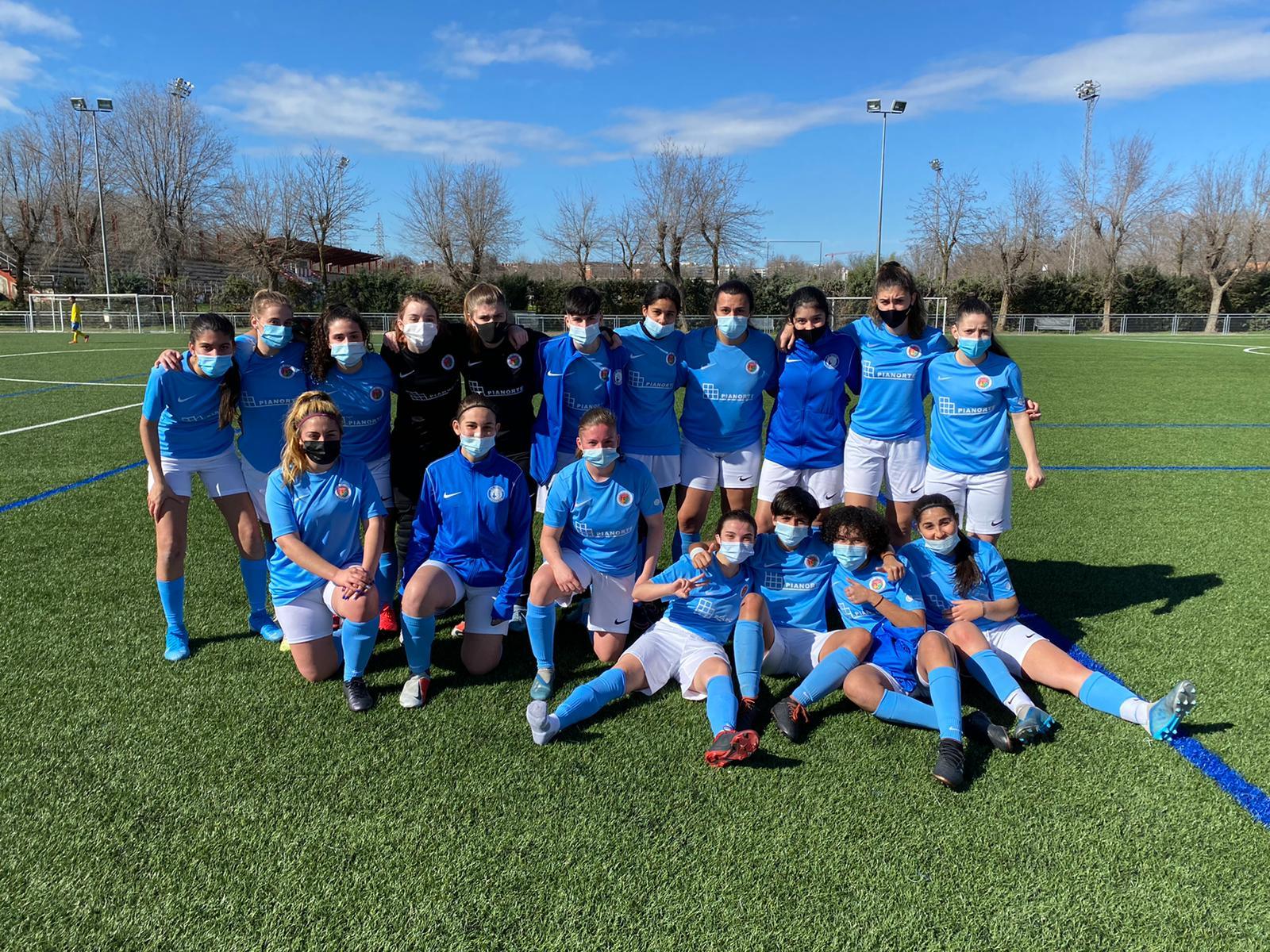 Categoría Juvenil B Escuela de Fútbol Getafe Femenino